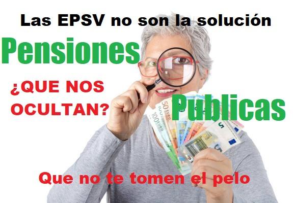 Sindicatos y Pensiones Privadas de Empleo(EPSV).